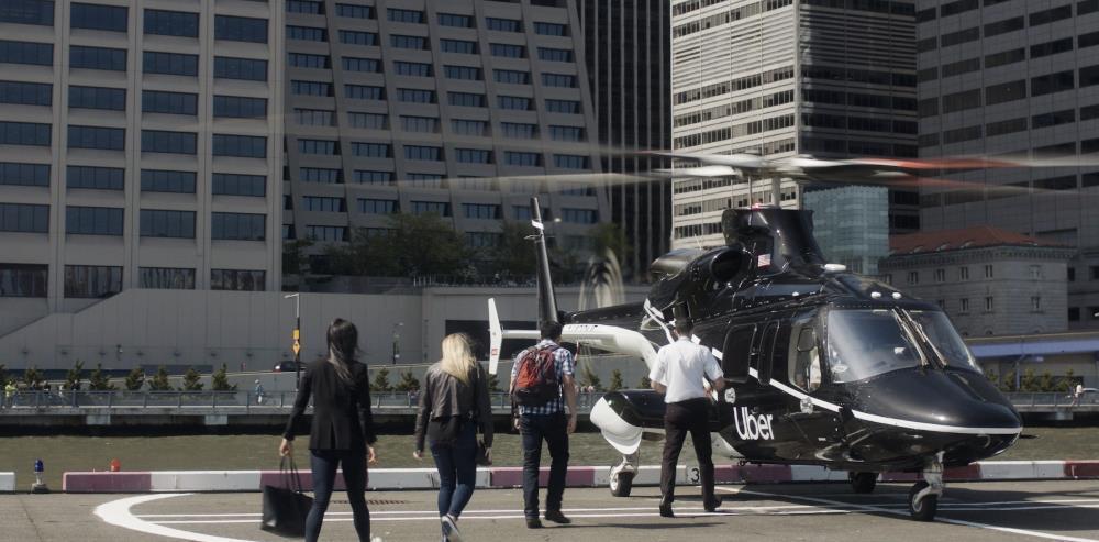 最前线丨Uber在纽约开放直升机送机服务,十分钟200美元,敢坐吗?