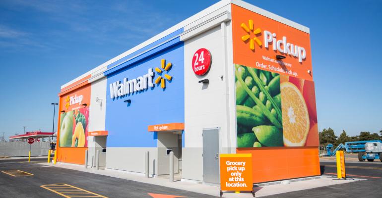 沃尔玛推出自助杂货售卖亭,无人值守与线上线下打通,会是零售新趋势吗?