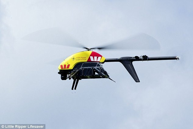 Blessing of AI uavs become a new weapon to prevent shark attacks, reduce trouble back at home of swimming   wave technology