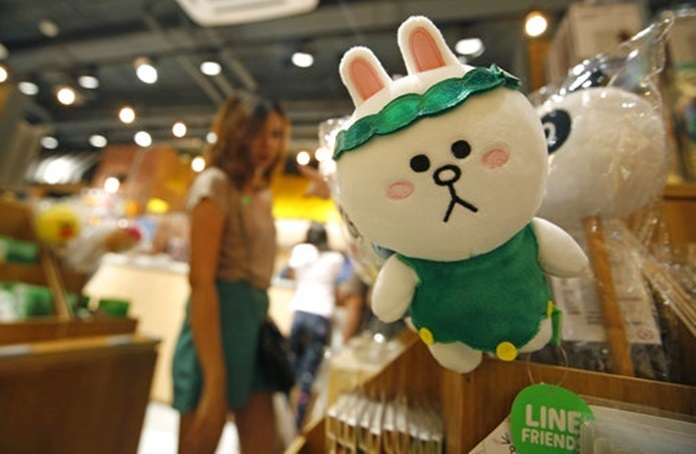 Line opened a VR theme park in Thailand, except of the economy, also can rely on what growth?