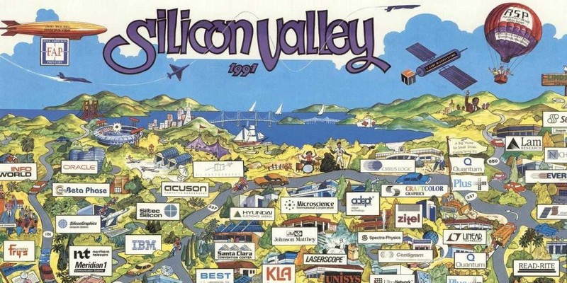 Silicon valley boring history: transistors, Stanford and venture capital