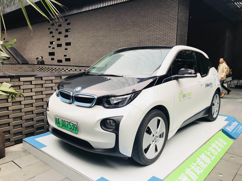 Meituan, BMW time-sharing leasing business also be born in chengdu, and Evcard joint operations