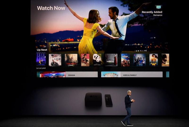 Apple into film, is making a futuristic television series