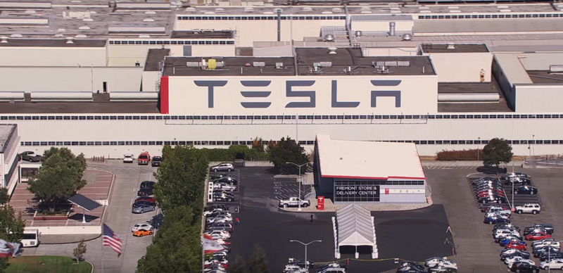 Tesla European plant equipped with solar panels, this is